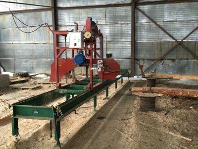 Производство по переработке леса - пилорама
