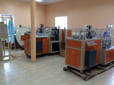 Завод по производству бумажных стаканов