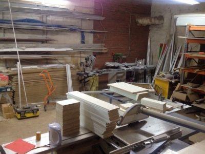 Цех для производства торговой мебели