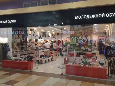 Известная франшиза — магазин молодежной обуви