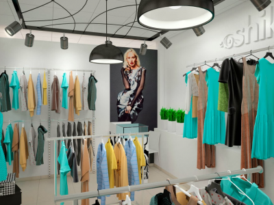 Продаю магазин женской одежды в ТРЦ