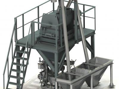 Продается мини завод по производству сухих строительных смесей