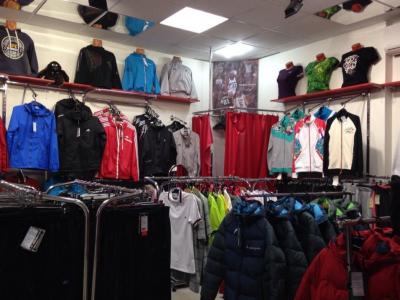 Отдел спортивной одежды