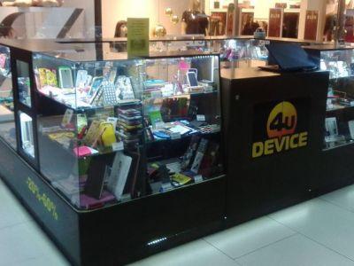 Островок по продаже аксессуаров для телефонов и планшетов