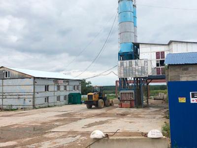 Круглогодичный бетонный завод со стабильным доходом