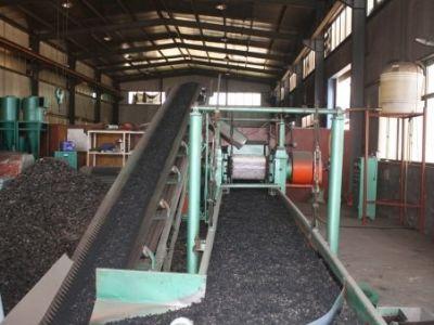 Завод по переработке изношенных шин в резиновую кр